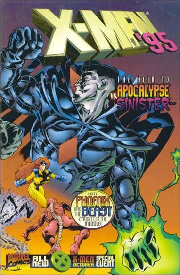 Couverture de X-Men (1991) -AN1995- A sinister heart / words