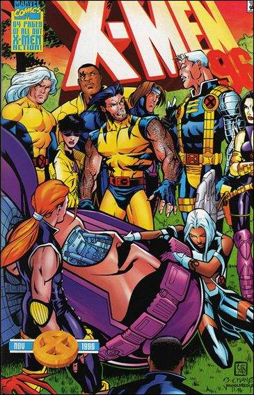 Couverture de X-Men (1991) -AN1996- One day at the mansion