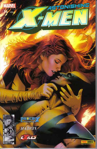 Couverture de Astonishing X-Men (kiosque) -14- Le chant du phénix (2)