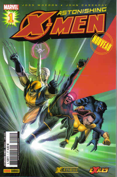 Couverture de Astonishing X-Men (kiosque) -1- Surdoués