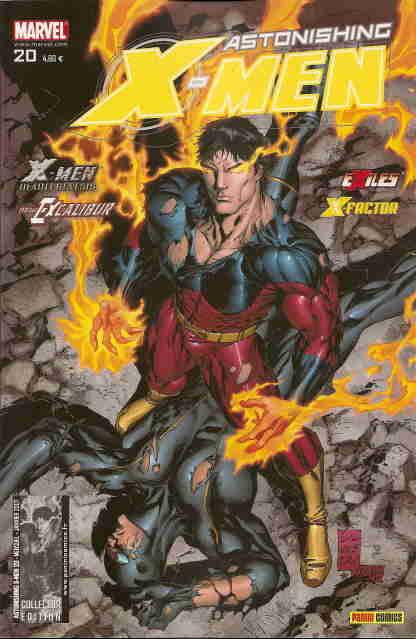Couverture de Astonishing X-Men (kiosque) -20- Les briseurs de temps
