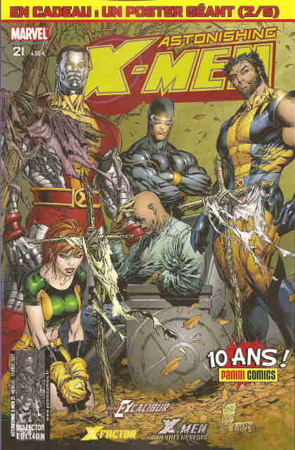 Couverture de Astonishing X-Men (kiosque) -21- Une vie extraordinaire