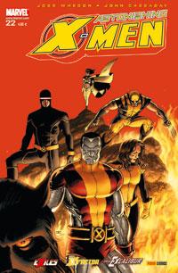 Couverture de Astonishing X-Men (kiosque) -22- Déchirée