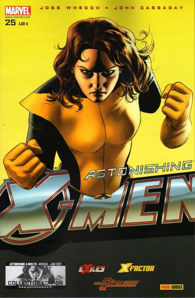 Couverture de Astonishing X-Men (kiosque) -25- Hypnose
