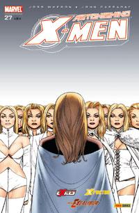 Couverture de Astonishing X-Men (kiosque) -27- Chasse aux monstres