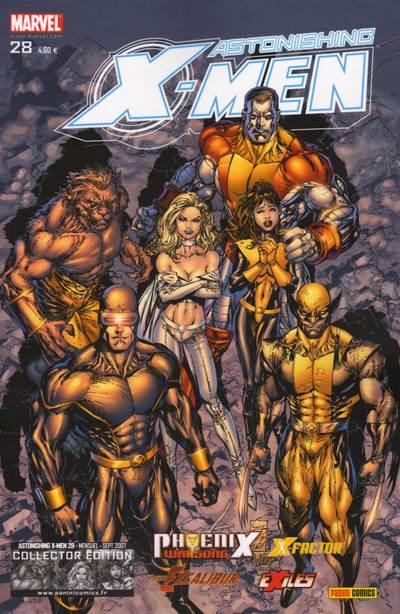 Couverture de Astonishing X-Men (kiosque) -28- Chant de guerre