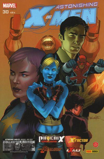 Couverture de Astonishing X-Men (kiosque) -30- Irréparable