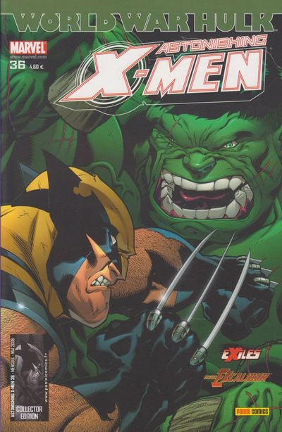 Couverture de Astonishing X-Men (kiosque) -36- Le serment de protection