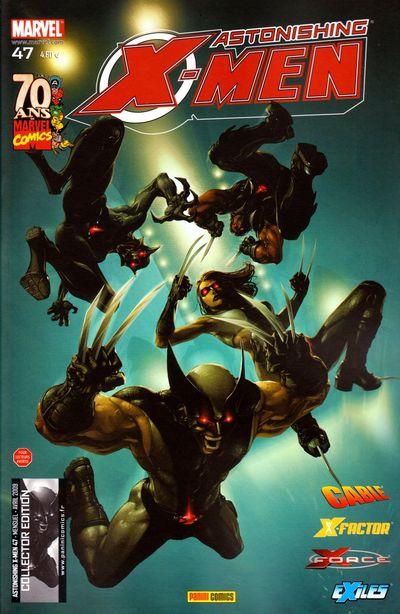 Couverture de Astonishing X-Men (kiosque) -47- Stratégie de sortie