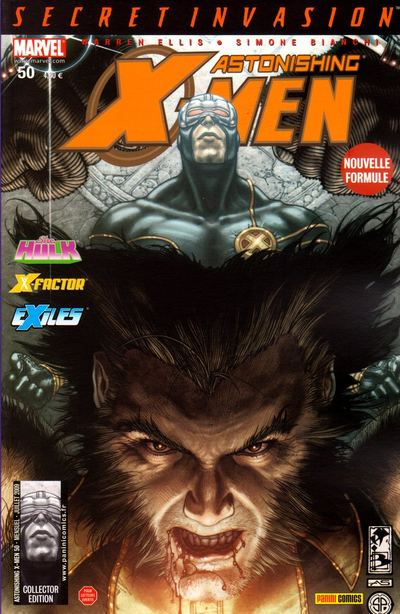 Couverture de Astonishing X-Men (kiosque) -50- Il vous aime
