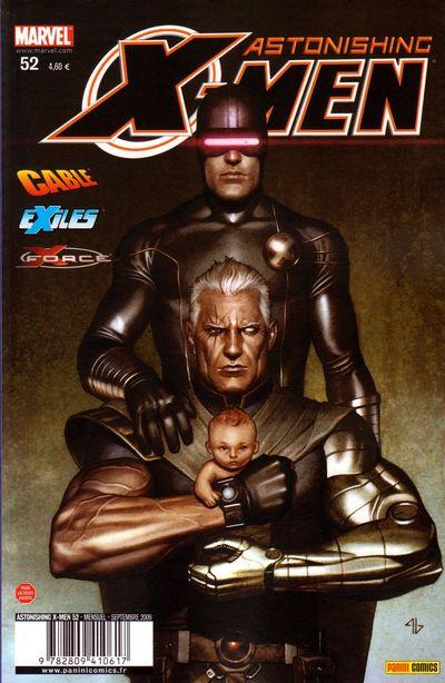 Couverture de Astonishing X-Men (kiosque) -52- Vieux fantômes