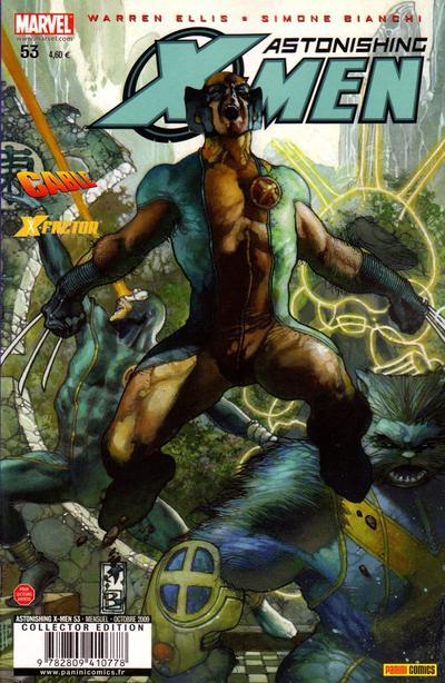 Couverture de Astonishing X-Men (kiosque) -53- Les meilleures intentions