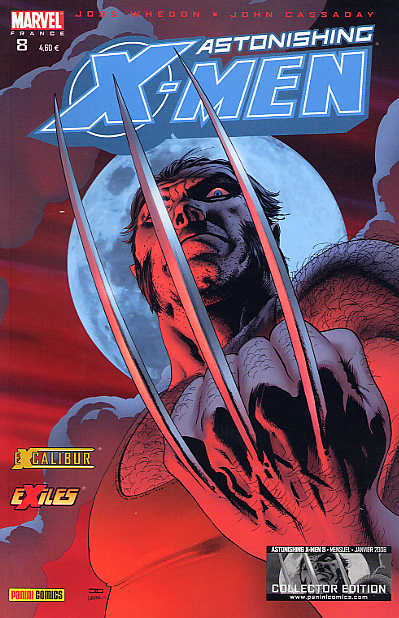 Couverture de Astonishing X-Men (kiosque) -8- La fièvre du samedi soir