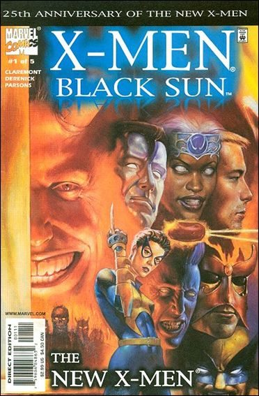 Couverture de X-Men: Black Sun (2000) -1- First spell : skin the cat
