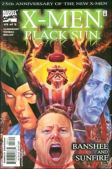 Couverture de X-Men: Black Sun (2000) -3- Third spell : bare claws