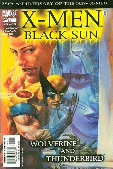 Couverture de X-Men: Black Sun (2000) -5- Final spell : cast the magik