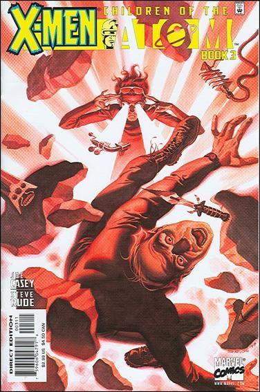 Couverture de X-Men: Children of the atom (1999) -3- Children of a lesser god
