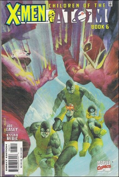 Couverture de X-Men: Children of the atom (1999) -6- The great cathedral space