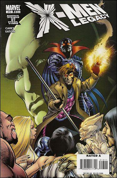 Couverture de X-Men Legacy (2008) -213- Sins of the Father, part 3