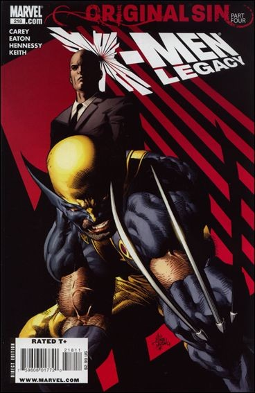 Couverture de X-Men Legacy (2008) -218- Original Sin, part 4
