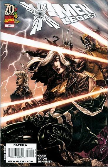 Couverture de X-Men Legacy (2008) -220- Salvage, part 1 of 5