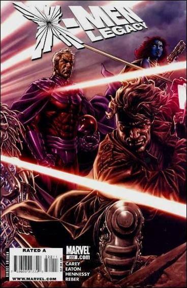 Couverture de X-Men Legacy (2008) -222- Salvage, part 3 of 5