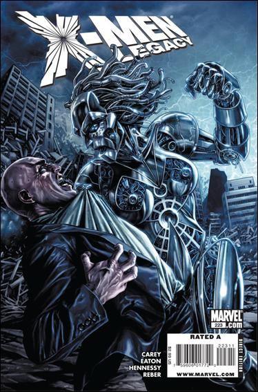 Couverture de X-Men Legacy (2008) -223- Salvage, part 4 of 5