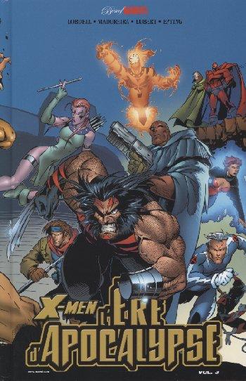 Couverture de Best of Marvel -9- X-Men : L'ère d'Apocalypse - 3
