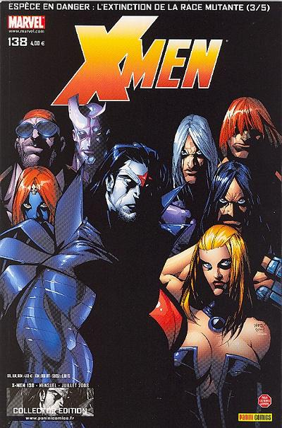 Couverture de X-Men (Marvel France 1re série - 1997) -138- Espèce en danger (3)