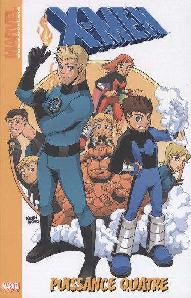 Couverture de X-Men (Marvel Kids) -2- Puissance Quatre
