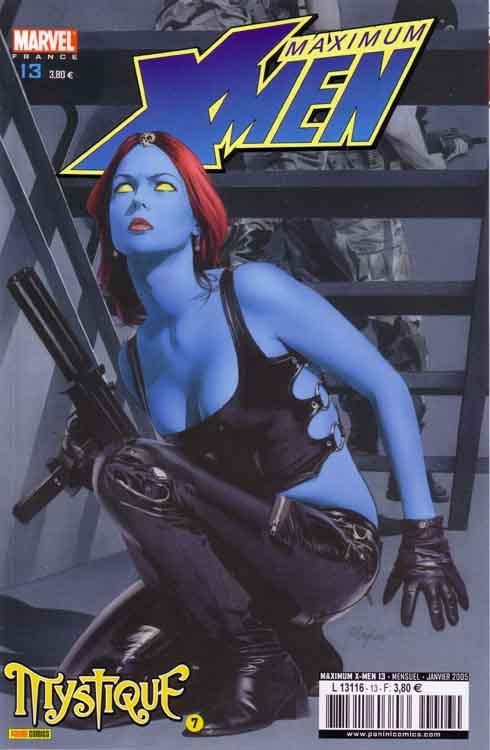 Couverture de X-Men (Maximum) -13- Mystique 7