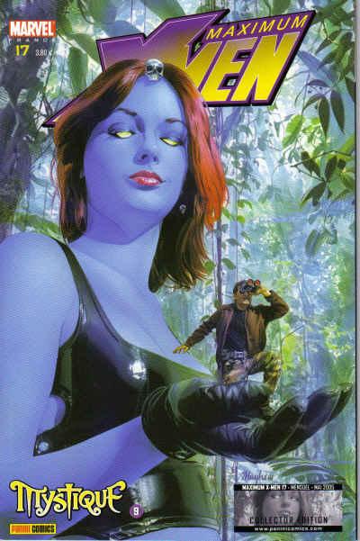 Couverture de X-Men (Maximum) -17- Mystique 9