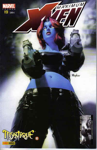 Couverture de X-Men (Maximum) -19- Mystique 10