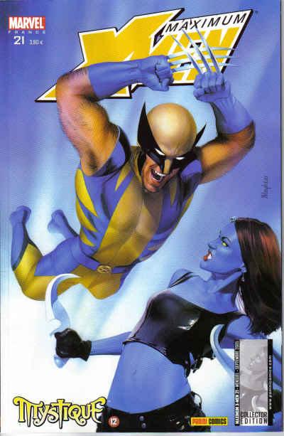 Couverture de X-Men (Maximum) -21- Mystique 12