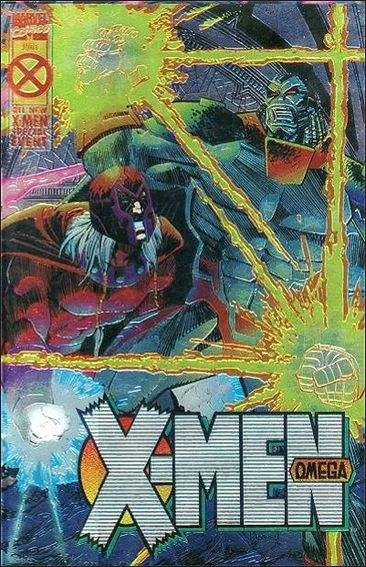Couverture de X-Men Omega (1995) - ... endings