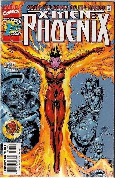 Couverture de X-Men: Phoenix (1999) -1- Askani rising part 1