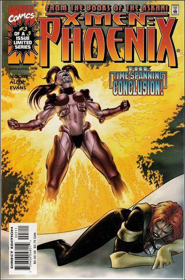 Couverture de X-Men: Phoenix (1999) -3- Askani rising part 3 : sacrifice