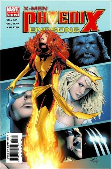 Couverture de X-Men: Phoenix Endsong (2005) -2- Phoenix endsong part 2