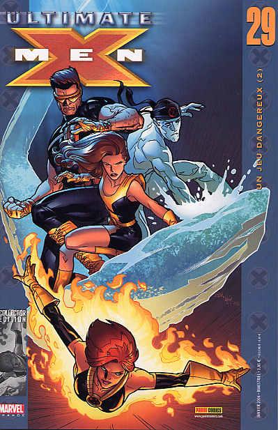 Couverture de Ultimate X-Men -29- Un jeu dangereux (2)