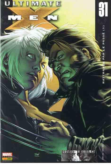 Couverture de Ultimate X-Men -31- Rattrapés par le passé (1)