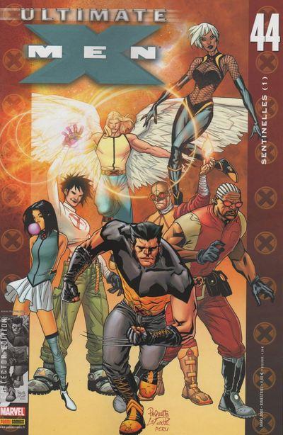 Couverture de Ultimate X-Men -44- Sentinelles (1)