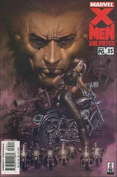 Couverture de X-Men Unlimited (1993) -35- Triptych / unhappy anniversary / the untold story