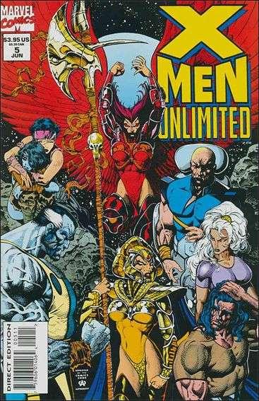 Couverture de X-Men Unlimited (1993) -5- Hard promises