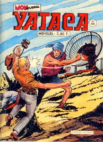 Couverture de Yataca (Fils-du-Soleil) -129- Des sardines qui valent de l'or !!