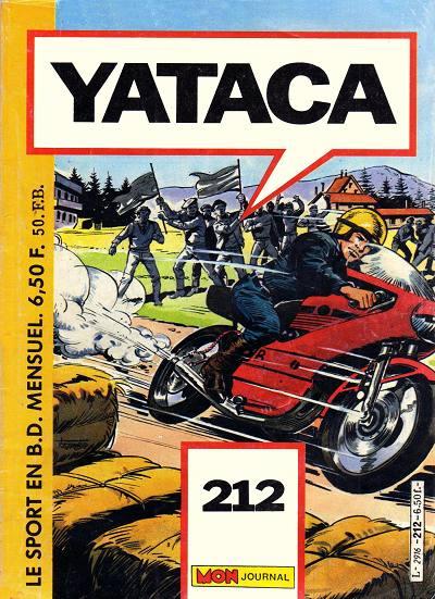 Couverture de Yataca (Fils-du-Soleil) -212- Fantastico Gordon !