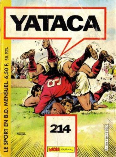 Couverture de Yataca (Fils-du-Soleil) -214- Pour cause de blessure