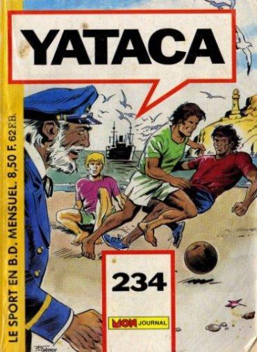 Couverture de Yataca (Fils-du-Soleil) -234- Flash Jordan
