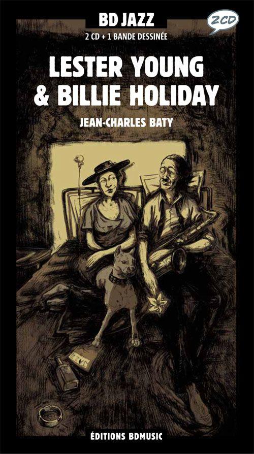 Couverture de BD Jazz - Lester Young & Billie Holiday