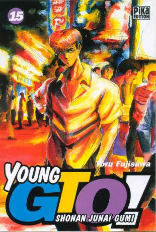 Couverture de Young GTO - Shonan Junaï Gumi -15- Tome 15