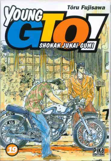 Couverture de Young GTO - Shonan Junaï Gumi -19- Tome 19